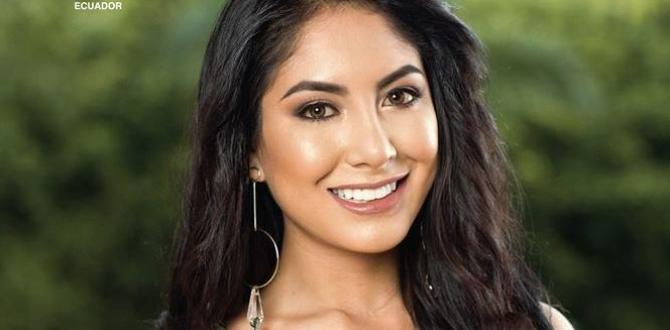 Katherine Velasco, Ex Miss World Cotopaxi