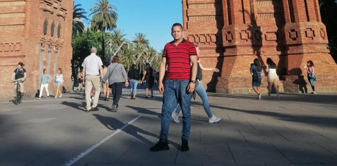 El ecuatoriano Henry Gómez viven en Barcelona, España.