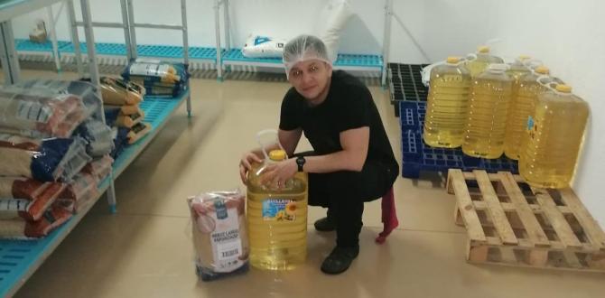 Gómez trabajaba para una empresa de catering. Era el encargado de preparar los alimentos.