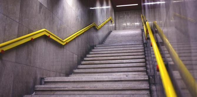 Escaleras metro Milan Italia