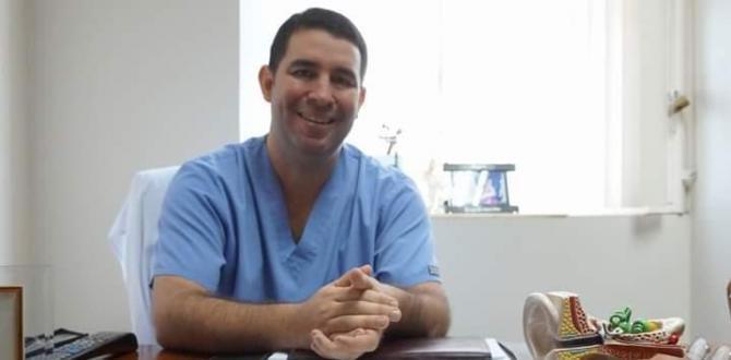 Ricardo Elicio Mendoza, otorrinolaringólogo del OmniHospital.