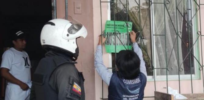 clausura policia