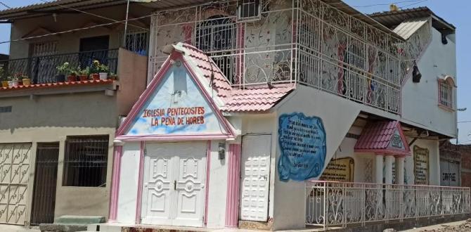 Esta es la  iglesia evangélica donde supuestamente reclutaban a las mujeres.