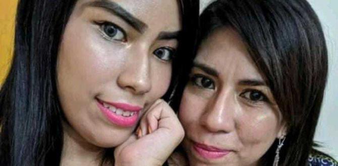 Karen Michelle Muñoz Burbano de 37 años y su hija Melody Betzabeth Sánchez Muñoz (20).