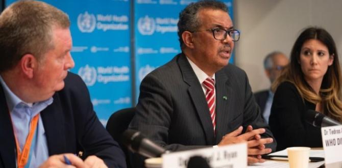 La situación del coronavirus en el mundo sigue empeorando, dice Tedros.
