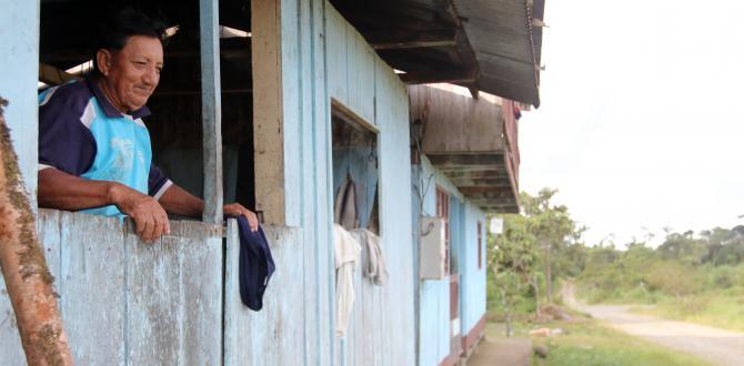Moradores de Sangay