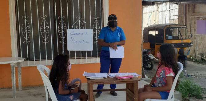 IMPARTIENDO CLASES EN EL PORTAL
