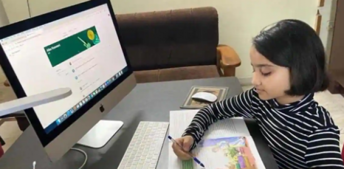 Para algunos padres de familia, las clases virtuales tiene más pros que contras.