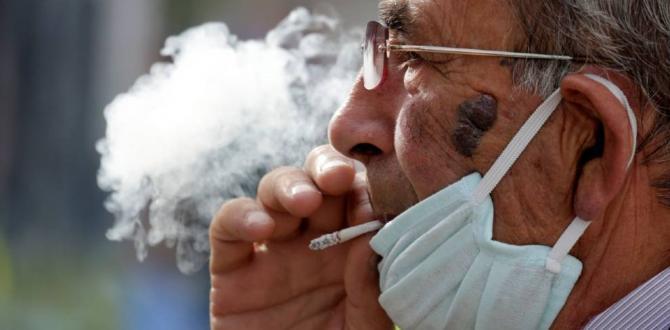 Según datos de la OMS, el consumo de tabaco ha aumentado debido al confinamiento del COVID-19