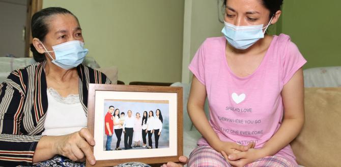 La familia Cáceres Álvarez enfrenta el dolor de perder al jefe del hogar y de ver enferma a otra de sus integrantes.