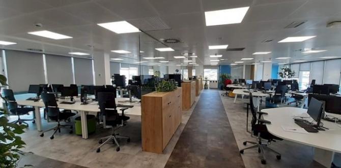 Hasta este momento, hay oficinas vacías a causa de la pandemia.