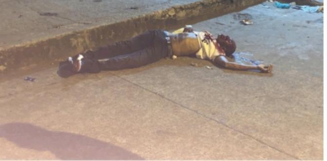 Eyner Hernández Murillo se desplomó cerca de una vereda.