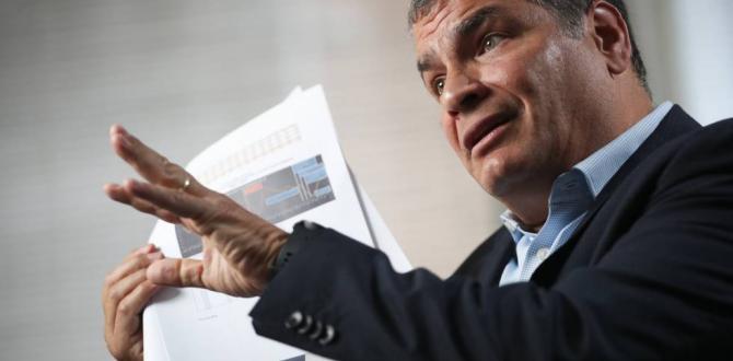 A Rafael Correa, expresidente de Ecuador, le ratificaron la sentencia en el caso Sobornos.