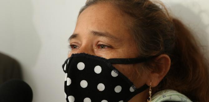 Betty Alvarado narró los duros momentos que vive tras la muerte de su hijo.