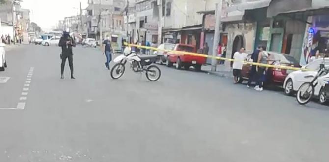 En este sector porteño ocurrió el asesinato, Policía de Dinased y Criminalística llegaron al lugar para recabar indicios.