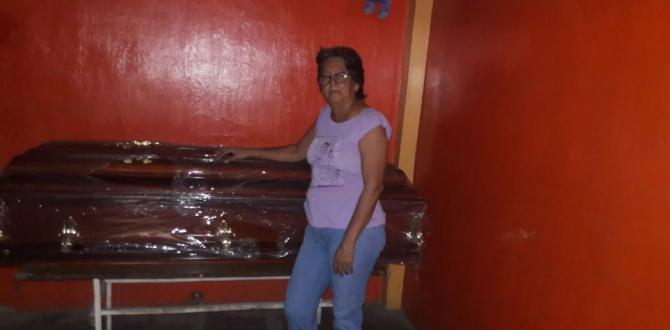 En mayo pasado EXTRA contó la historia de la desaparición del cadáver de doña Rosa Elena. Sus familiares guardaban el féretro en su casa.