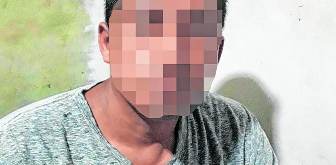 El padrastro, de 41 años, es investigado por violación y porte de arma de fuego.