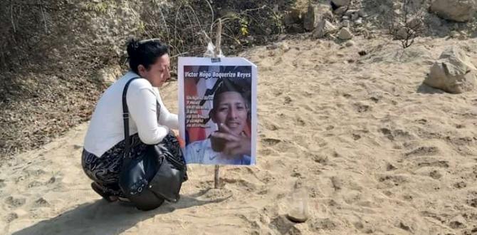 desaparecido en Santa Elena