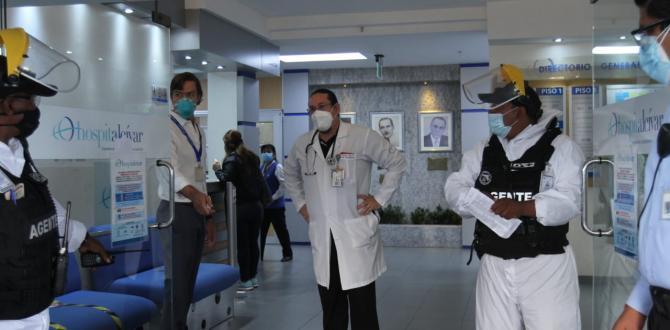 Así fue la llegada del exmandatario a la casa de salud.