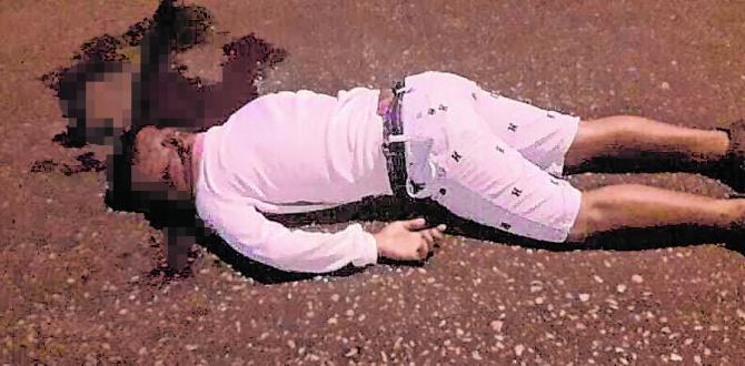 El cadáver de Gabriel Torres Carvajal quedó sobre el pavimento.