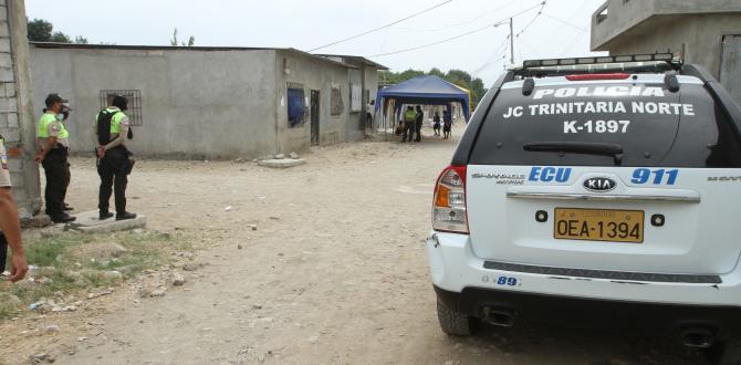 La Policia resguardó el velorio del adolescente para evitar altercados en el sector.