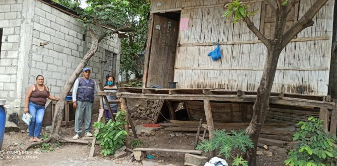 La vivienda donde hasta abril pasado residió Ángela Ponce.