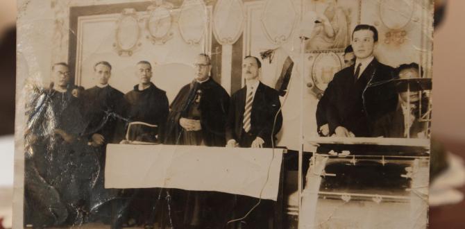 En la década del 60, Ángel fue el presidente de la Liga de Colegios Católicos y secretario del Sindicato de Trabajadores.