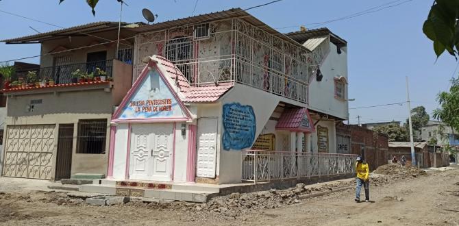 De este templo religioso ubicado en Pascuales supuestamente reclutaban a las chicas.