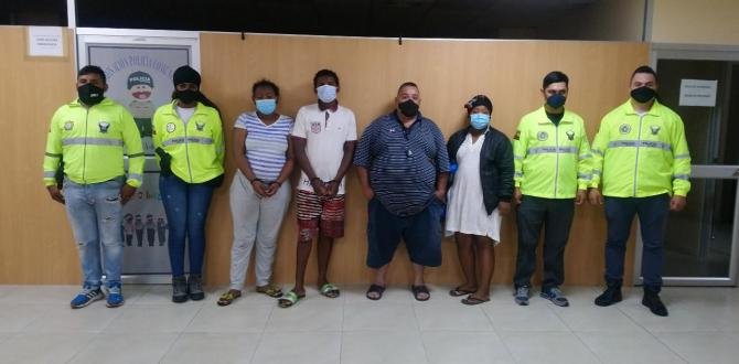 Los sospechoso fueron detenidos la noche del miercoles.