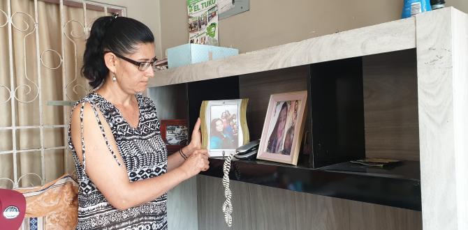 María Ruiz afirmó que le tranquiliza saber que la asesina de su hija paga por el crimen que cometió.