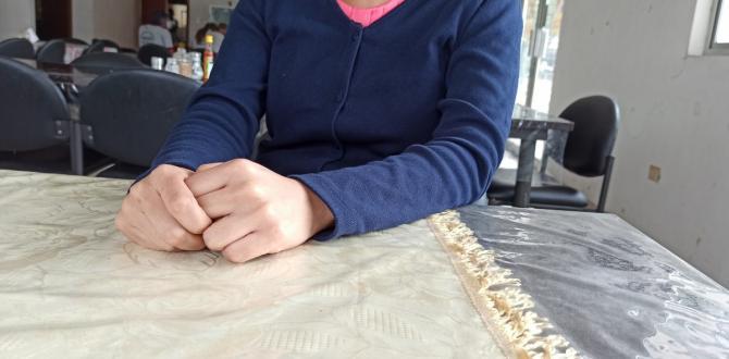 Las manos de Valentina aún tiemblan cuando describe el calvario que vivió por ocho años.