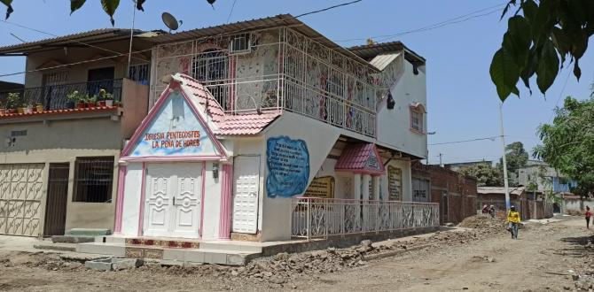 En este templo ubicado en Pascuales es donde supuestamente reclutaban a las jóvenes.