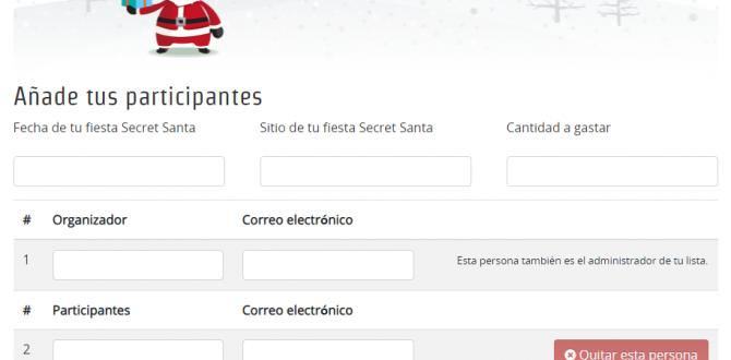 Tu amigo secreto toma el nombre de Santa en esta aplicación gratuita.