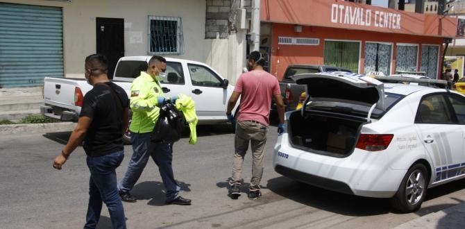 thumbnail_Elementos policiales revisaron todos los indicios en el lugar