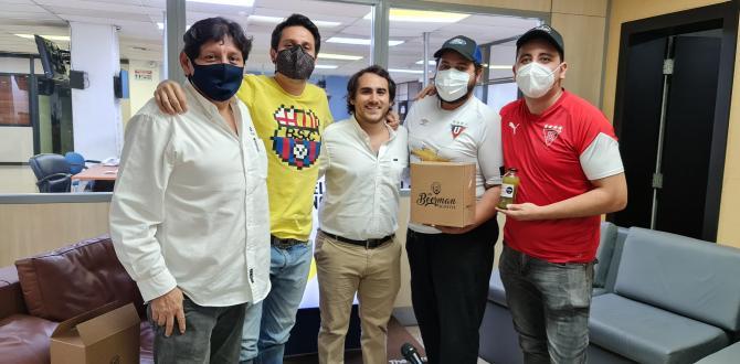 Los participantes que estuvieron en la trivia con EXTRA.