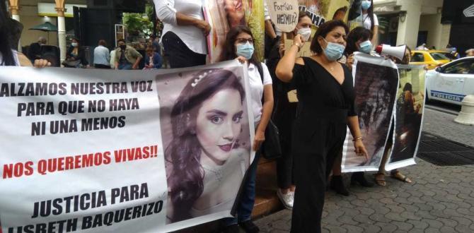 Katty Muñoz, dijo que no esta de acuerdo que el cuerpo de su hija sea exhumado.