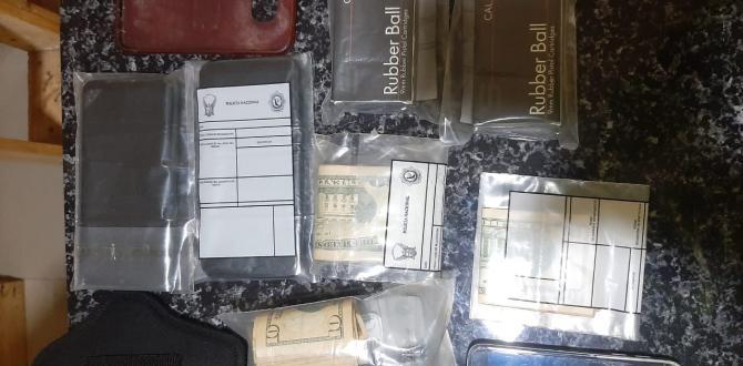 Parte de las evidencias halladas a los detenidos.