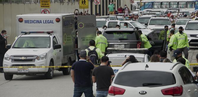 El vehículo del presentador recibió cuatro impactos de bala. Uno penetró el cuerpo de Efraín.