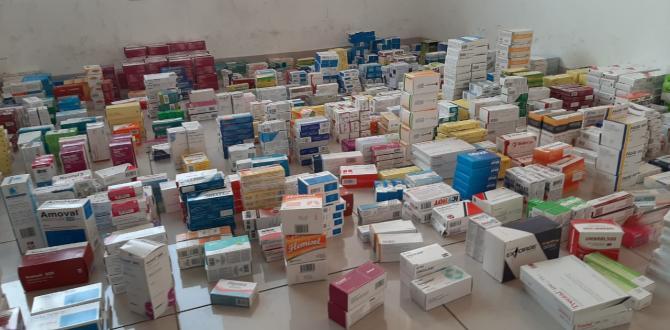 medicamentos incautados