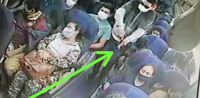 El asesinato de la guía quedó registrado en vídeos de seguridad.