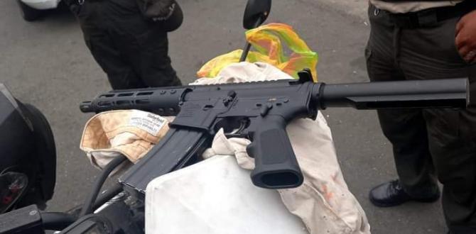 Este fusil habrían utilizado para el crimen.