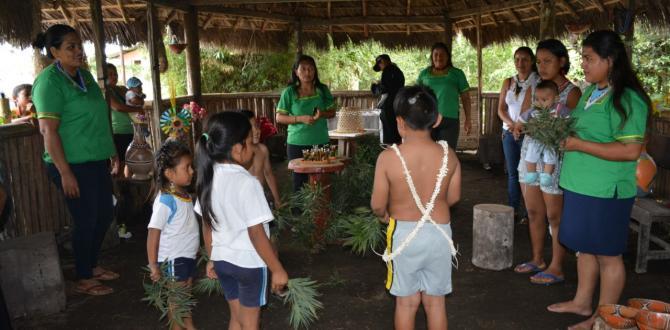 thumbnail_La danza ancestral es parte de las tradiciones en las comunidades de Puyo
