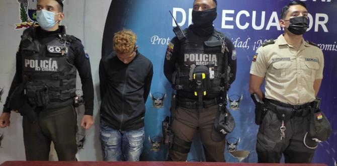 La Policía detuvo a José Andrade Guerrero, presunto responsable del crimen.