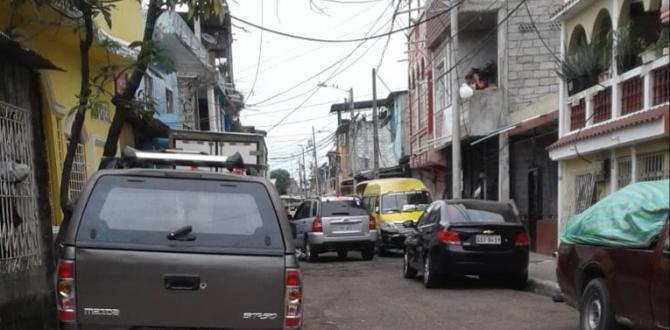 Las hermanas estaban en esta calle del sur porteño, cuando fueron heridas de bala.