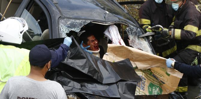 Accidente vía Yaguachi-Durán
