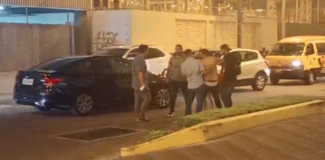 pelea Puerto Santa Ana 3