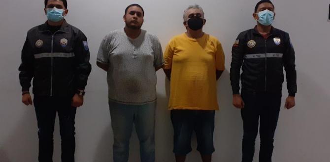 detenidos por caso Samanes