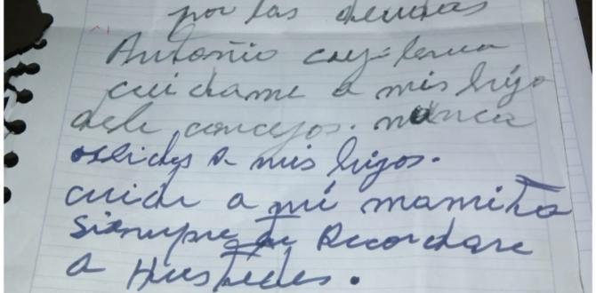 El chimboracense escribió una carta donde explica los motivos de su suicidio.