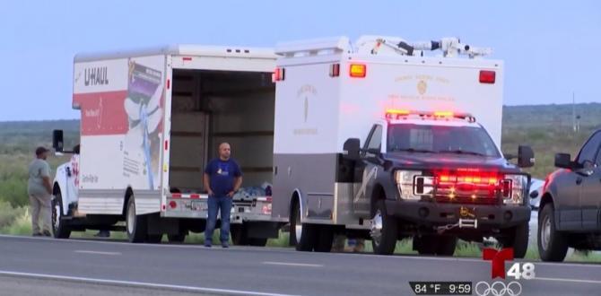 Migrante muere en camión de mudanza