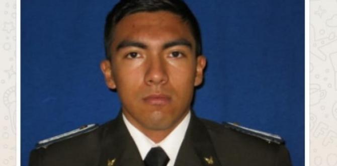 Ángel Santiago Rogel Gavilanes es uno de los policías fallecidos.